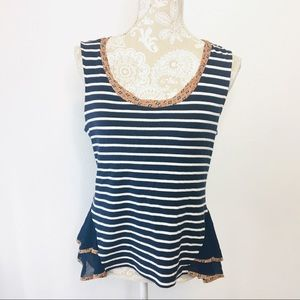 Postmark Sleeveless Swing Tank Medium Navy 1124